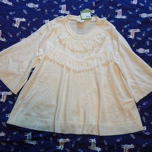 Kate Spade 3/4 sleeves Wool Pullover